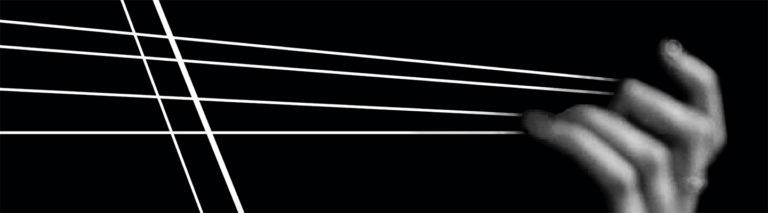 Abstract violin image for Stillness concert