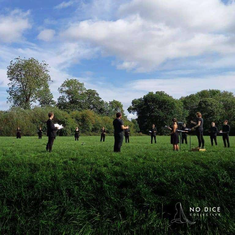 Kantos Chamber Choir perform In The Field