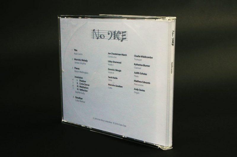 Stillness CD back cover