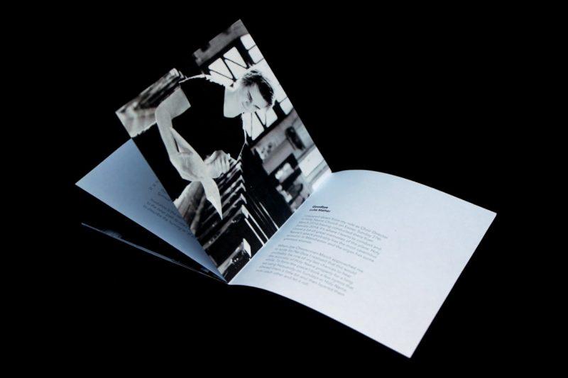 Stillness CD booklet