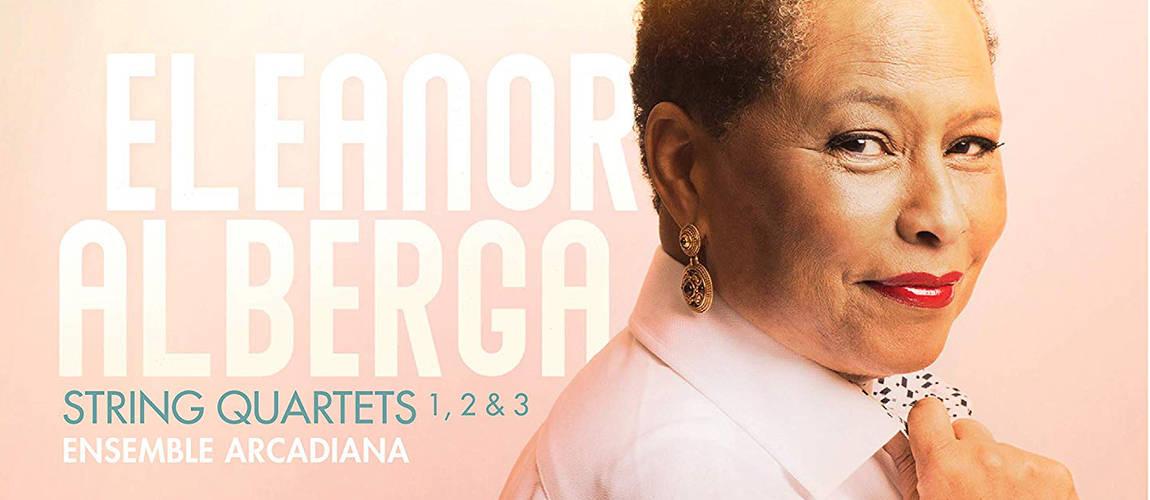 Eleanor Alberga String Quartets CD cover crop